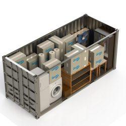 Opslagbox 33m³