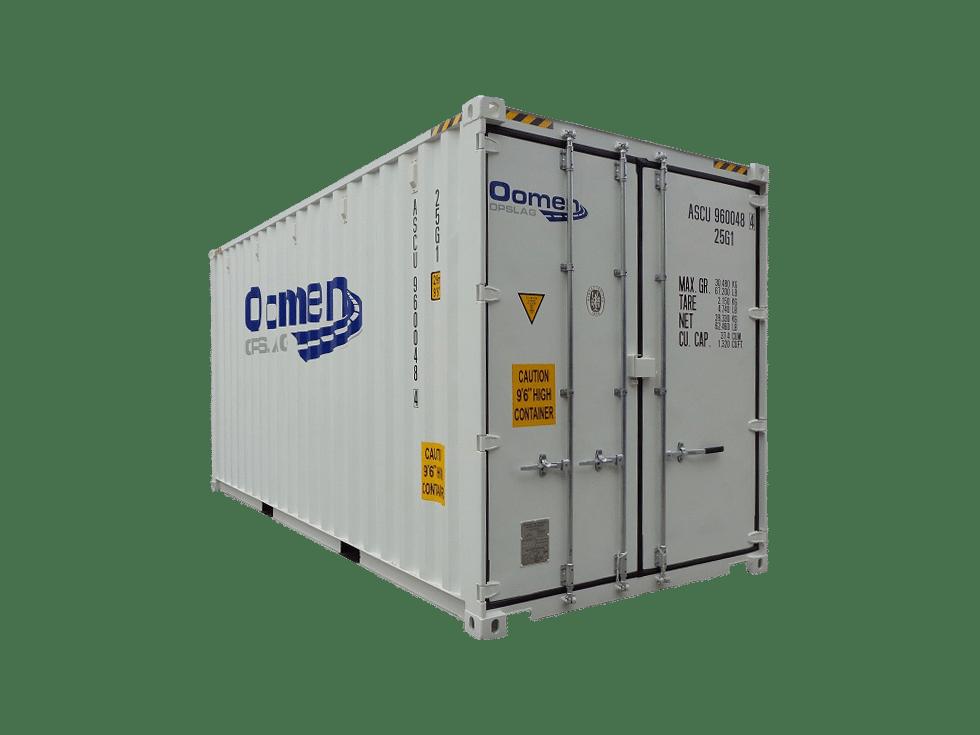 Opslagbox 20ft high cube