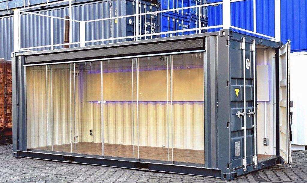 Container voor een event