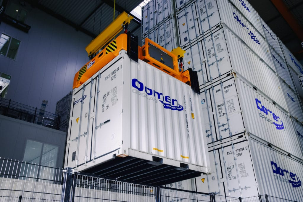 opslagcontainer hal
